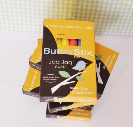 ButterStix Dustless Chalk 12pk - OUR BRANDS - Jaq Jaq Bird - Four Now Mum + Baby