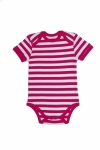 Certified Organic S/S Bodysuit - Fuschia - OUR BRANDS (Canboli)