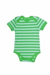Certified Organic S/S Bodysuit - Lime - OUR BRANDS (Canboli)