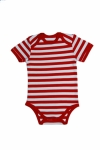 Certified Organic S/S Bodysuit - Red - OUR BRANDS (Canboli)