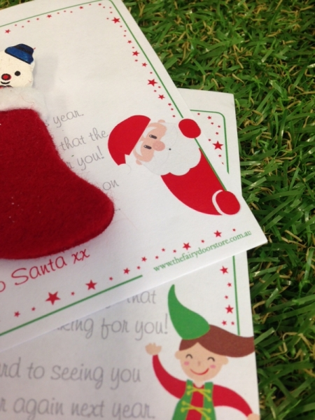 Christmas Letter From Santa - OUR BRANDS - The Fairy Door Store - Four Now Mum + Baby