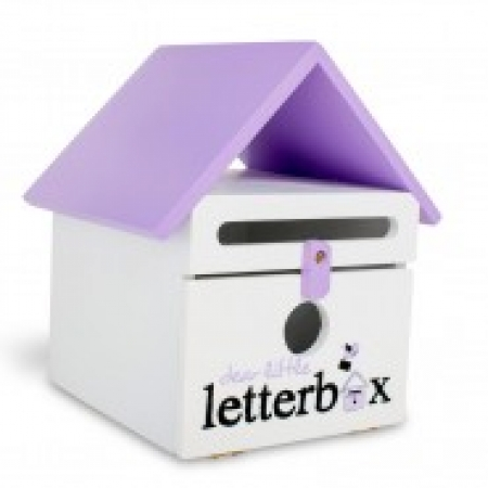 Dear Little Letterbox - Purple - OUR BRANDS - Dear Little Designs - Four Now Mum + Baby