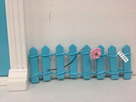 Fence - Blue - OUR BRANDS - The Fairy Door Store - Four Now Mum + Baby