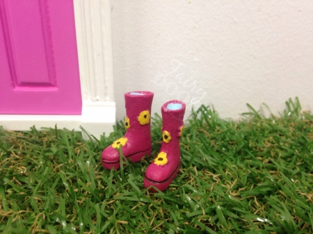 Gumboots - Pink - OUR BRANDS - The Fairy Door Store - Four Now Mum + Baby