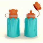 My Squeeze - Aqua - Feed Time<br>(Reusable Food Pouches)