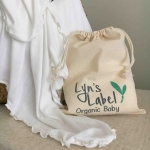 Olivia Pure Organic Bamboo Jersey Swaddle  - OUR BRANDS (Lyns Label)