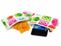 Reusable Mini Snack Bag 2 pack - Hoot - Feed Time<br>(Reusable Snack Bags)