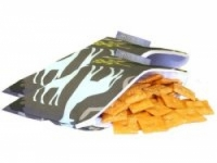 Reusable Mini Snack Bag 2 pack - Urban Jungle Blue - Feed Time<br>(Reusable Snack Bags)