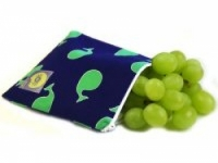 Reusable Snack  Bag - Whale Watching Blue - Feed Time<br>(Reusable Snack Bags)