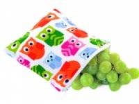 Reusable Snack Bag - Hoot - Feed Time<br>(Reusable Snack Bags)