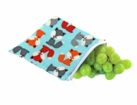 Reusable Snack Bag - Mr Fox - Feed Time<br>(Reusable Snack Bags)