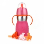 Safe Sippy 2 - Pink - Feed Time<br>(Bottles + Sippy Cups)