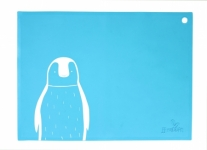 SiliMat - Blue Penguin - Feed Time (Placemats)