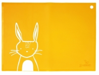 SiliMat - Orange Rabbit - Feed Time (Placemats)