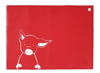 SiliMat - Red Piglet - Feed Time (Placemats)