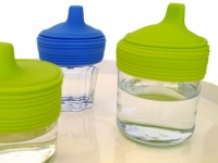Siliskin - Sippy Top 2pk - Feed Time<br>(Bottles + Sippy Cups)