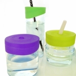 Siliskin - Straw tops 3pk - Feed Time<br>(Bottles + Sippy Cups)