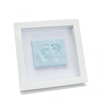 Single Frame with Clay Impression Kit - Blue - OUR BRANDS - Baby Ink - Four Now Mum + Baby