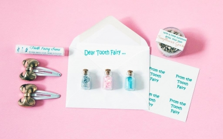 Tooth Fairy Kits - Girls - OUR BRANDS - Huckleberry - Four Now Mum + Baby