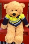 Zooty Bear with Yellow Shirt - OUR BRANDS<br>(Cuties By Zootys)